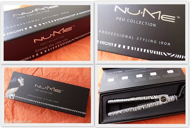 NuMe Fashionista Professional Styling Iron