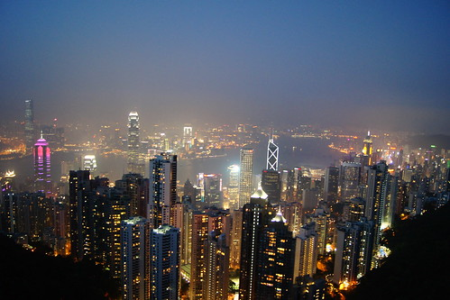 Hong Kong With Kids - View From The Peak