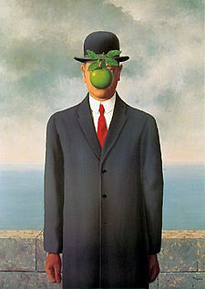 "Magritte, ""The Son of Man"""