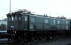 116 006  Koblenz  23.04.77 (w. + h. brutzer) Tags: analog train germany deutschland nikon eisenbahn railway zug trains db locomotive 116 koblenz lokomotive e16 elok eisenbahnen eloks webru