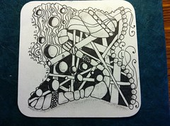 no nema (lacey709) Tags: zentangle zentangleinspiredart