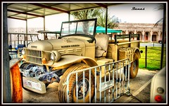 Very Old Car (.Qanas.) Tags: old colors up car photography nikon very uae police april dodge pick abu dhabi hdr qanas rashed 2011 d5000 alzaabi