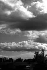 New Mexico Clouds (SmokinToast) Tags: light wallpaper sky blackandwhite bw usa cloud newmexico santafe macro america canon 50mm amazing colorful dof dynamic image bokeh pic explore 7d 2011