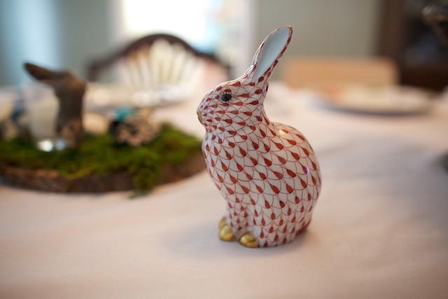 porcelain bunny