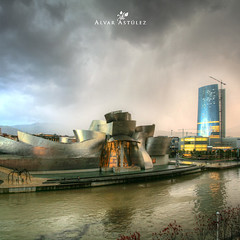 Storm on the Guggenheim (Bilbao Autumn 2010) - alvar astúlez