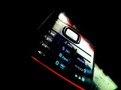 Just miss your voice... (Gunay Kazimli) Tags: light reflection dark keys call phone buttons voice number miss
