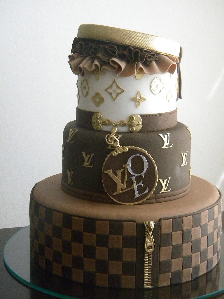 Bolo Louis Vuitton A De Acucar Bolos Artisticos Tags Wedding Cake