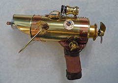 Steampunk metallic weapon (sundogrr) Tags: gun weapon copper clockworks propeller gauge steampunk
