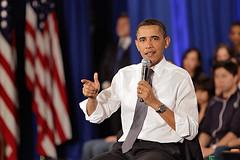 连线:奥巴马总统亲切看望脸谱公司员工