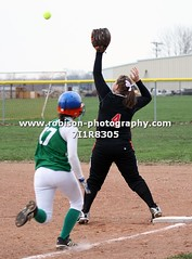 7I1R8305 (warren.robison) Tags: girls sports girl sport ball out photography action central first indiana christian highschool varsity softball bethesda pitcher triton basemen filder fairland ihsaa