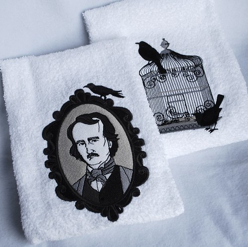 Poe Inspired Towels