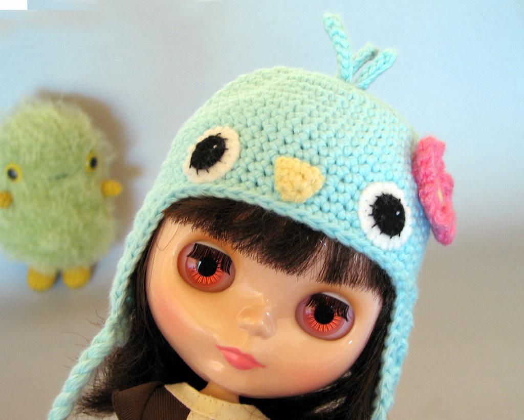 Amigurumi Earflap Hat : The Worlds newest photos by sock monkey kook - Flickr ...