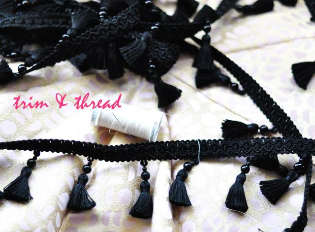 tassels and thread -1