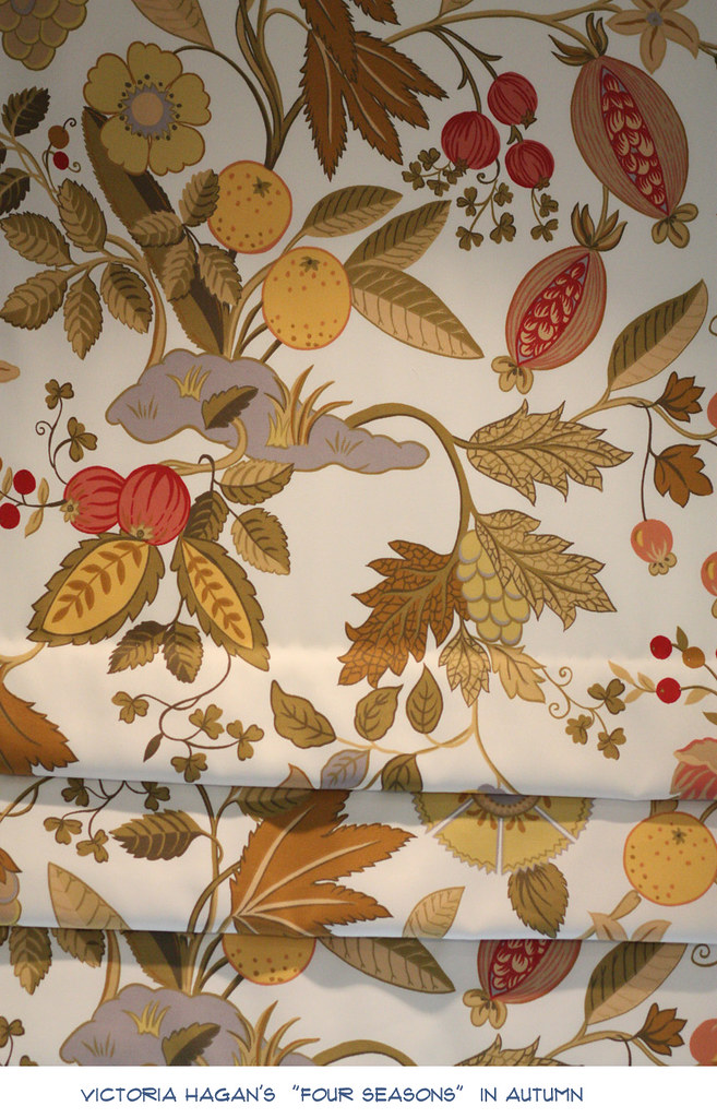 NOTES roman shade fabric