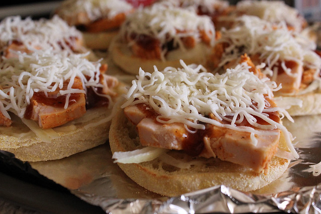 Mini Barbecue Chicken Sandwiches