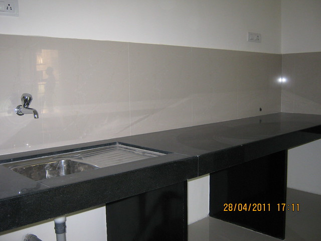 Sink and Kitchen Platform in  Sangria Towers at Megapolis Hinjewadi Phase 3, Pune