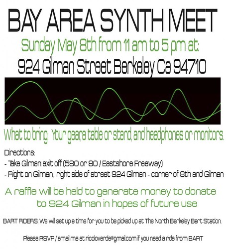 Bay Area Synth Meet