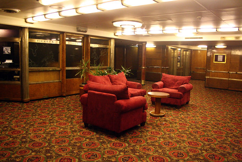 Queen Mary - Former First Class Entrance - Main Deck