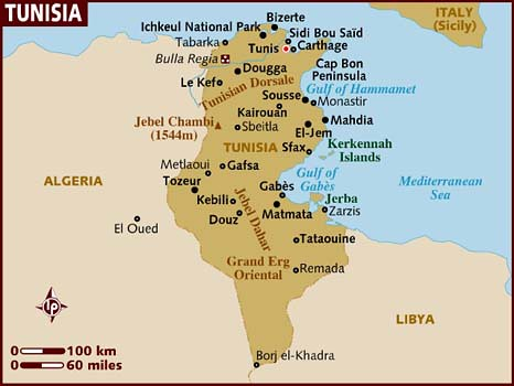 map_of_tunisia