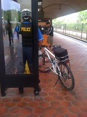 Metro bike patrol by uno000