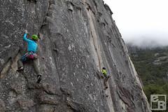 Liz climbing Nurdle, Lizzy on Knob Job (sometimes silent e) Tags: nature nationalpark spring yosemite yostweetup