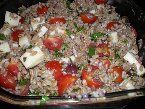 Farro Summer Salad
