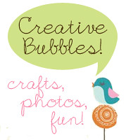 creative bubbles web ad