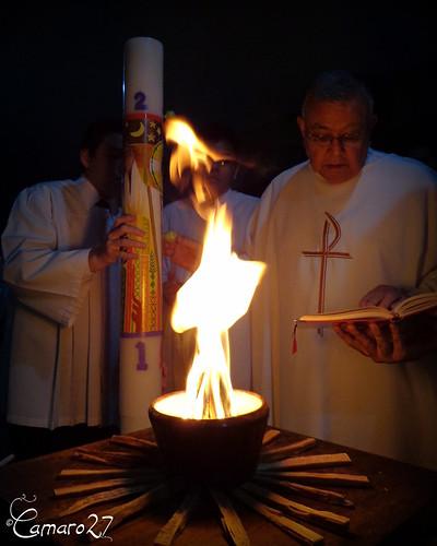 Sábado de Gloria en El Salvador
