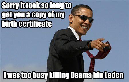 Killing Osama bin Laden is a. killing Osama bin Laden