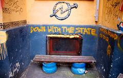 Grafitti på Hausmania