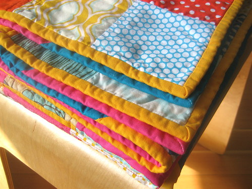 the happiest quilt binding