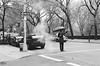 Taxi Hailing (Andrew JohnHarvey) Tags: leica ny newyork zeiss 50mm taxi neopan m6 zm hailing fujineopan neopancn400 zeissplanart50mmf2