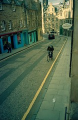 Candlemaker Row (RTMoynihan) Tags: colour film home diy edinburgh kodak away olympus give dev xa range portra finder vc southend frinton 160 c41