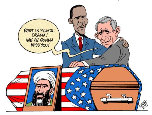 Osama deixará saudades