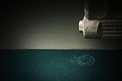 Vaco (ausencia). (Alois Glogar) Tags: wall painting pared floor radiator heating pintura suelo calefaccion radiador manchadecal limestains