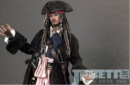 强尼·戴普亲自监修《加勒比海盗》杰克船长人偶发售!眼睛什么的都可以动!