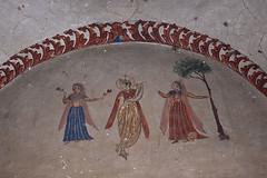 Wall Fresco in Hindu Temple, Kallar Syedan, Pakistan (Abdul Qadir Memon ( http://abdulqadirmemon.com )) Tags: heritage ruins religion sikh hindu indo abdul baba singh pak haveli islamabad subcontinent qadir rawalpindi kallar memon khem syedan