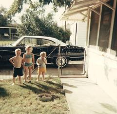 At Grandma's (Richard Elzey) Tags: kids kentucky louisville grandmahouse buickskylark lynnview lynview elzeyflorida