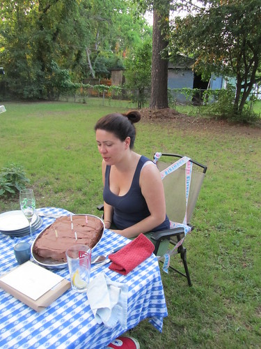 rachel's homemade bday cake