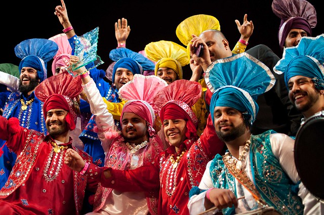 3rd place winners Bhangra Republik