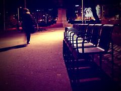 Night Walk (C_MC_FL) Tags: vienna wien street city light shadow urban motion night vintage walking person photography austria licht sterreich movement moody fotografie chairs nacht empty leer row stadt bewegung fujifilm nightlife cinematic schatten gehen nachtaufnahme spaziergang karlsplatz sessel resselpark spazieren reihe filmisch nachtaufnahmen strase s100fs gettyimagessalq2