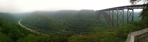 New River gorge bridge Panoramic