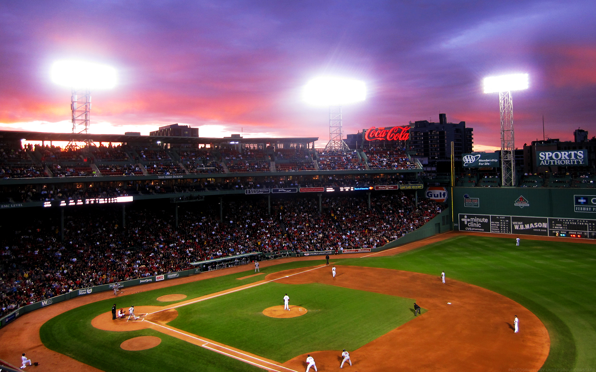 fenway in may #2 [wallpaper for smartphone and desktop ...