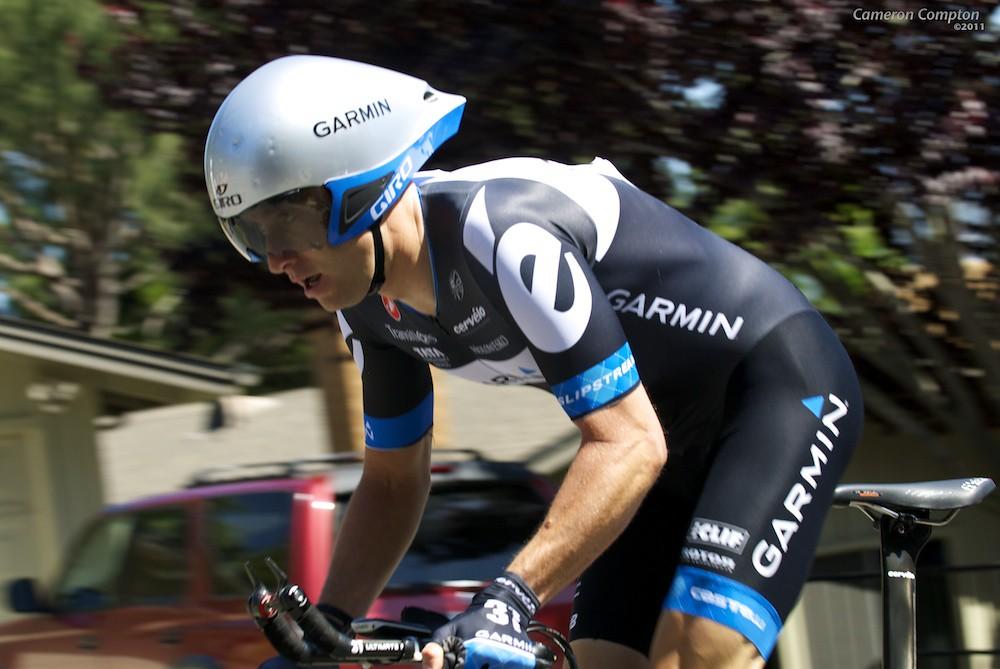 Christian Vande Velde, 2011 ToC Stage 6 ITT