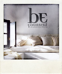 Be Yourself WALL STICKER (fabienbarral) Tags: house home wall poster moments graphic sweet decorative stickers decoration decal limited edition imaginary exchange harmonie decall fabien interieure barral
