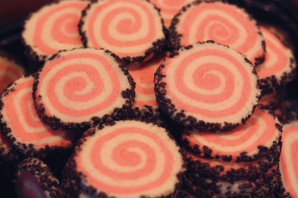 Peppermint Pinwheel Cookies, 1