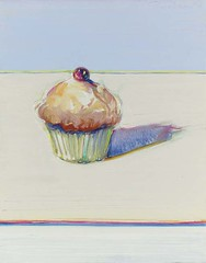 Wayne Thiebaud, Cupcake, 2000, sold for $777,600 at Christie's May 12 2005