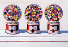 Wayne Thiebaud, Three Machines, 1963