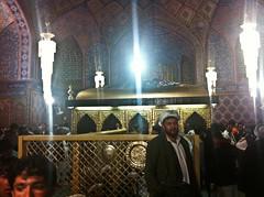 Purported tomb of Hazrat Ali
