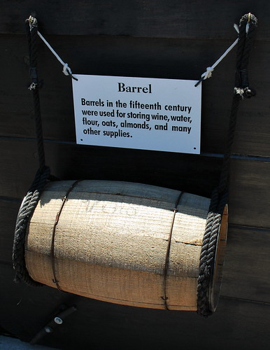 It's a Barrel!